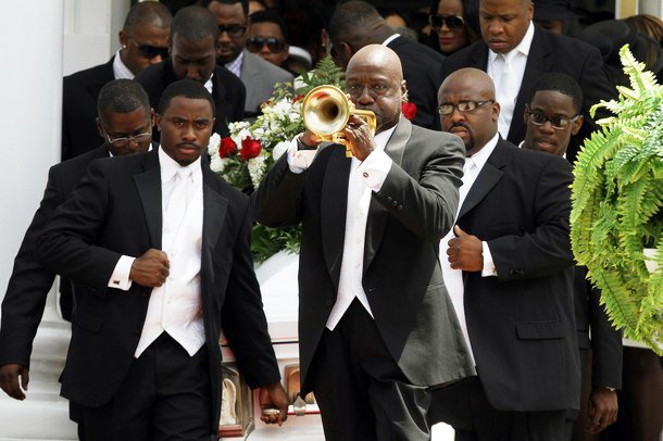 Usher's Stepson Laid to Rest in Atlanta