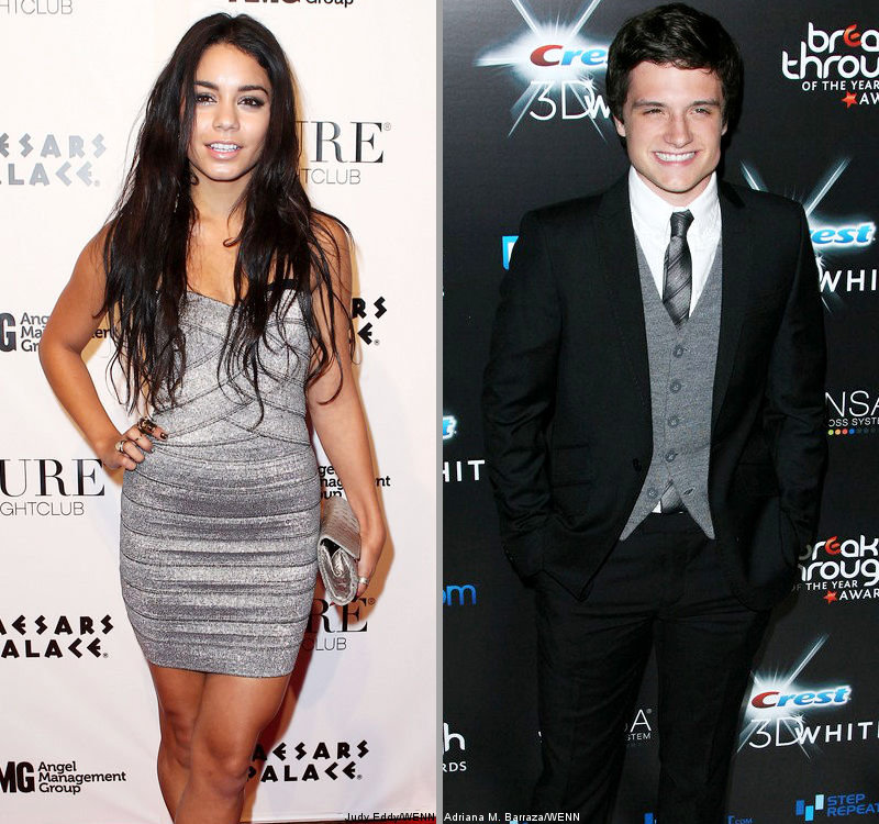 Vanessa Hudgens Insists She's Only Friend With Josh Hutcherson