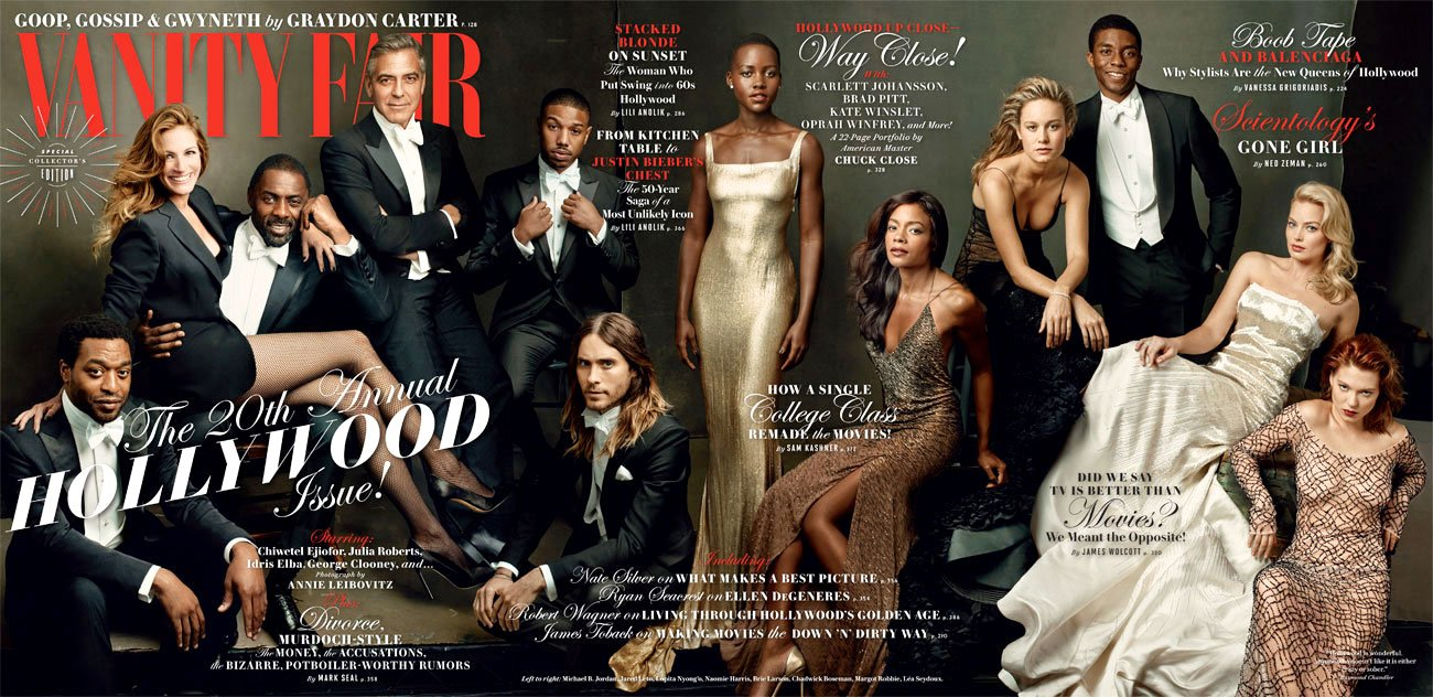 Vanity Fair Honors George Clooney, Lupita Nyong'o and More in New Hollywood Issue