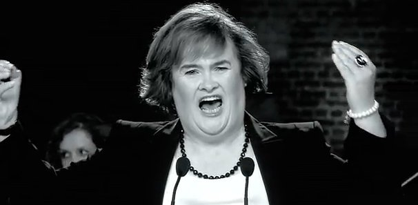 Video Premiere: Susan Boyle's 'You Have to Be There'