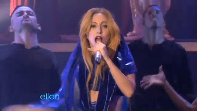 Video: Lady GaGa Showcases 'Judas' on 'Ellen DeGeneres Show'