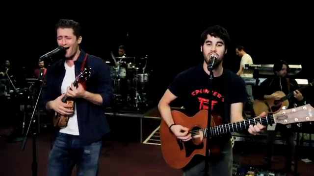 Video: Matthew Morrison Makes a Duet With Darren Criss