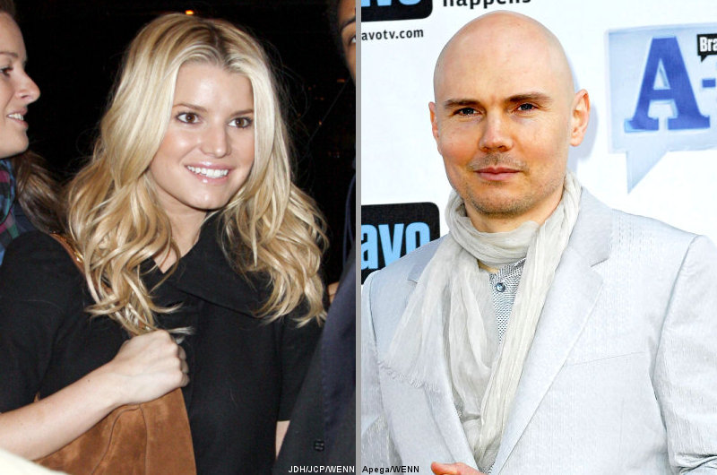 Jessica Simpson Confirmed 'Relationship' With Billy Corgan