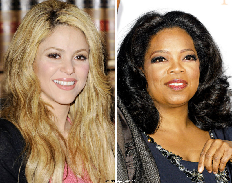 Shakira and Oprah Winfrey Plead for Haitian Earthquake Victims Support