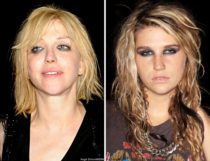 Courtney Love Hopes 'to School' Ke$ha