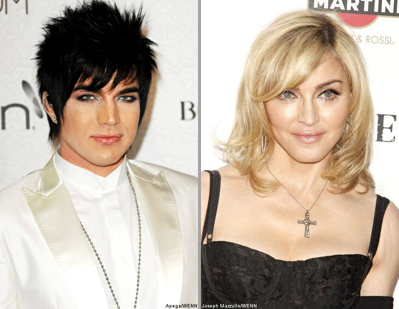 Madonna Is Adam Lambert's New Music Mentor