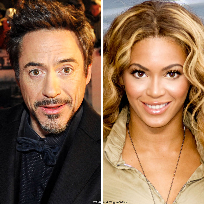Robert Downey Jr. and Beyonce Knowles Eyed for 'A Star Is Born'