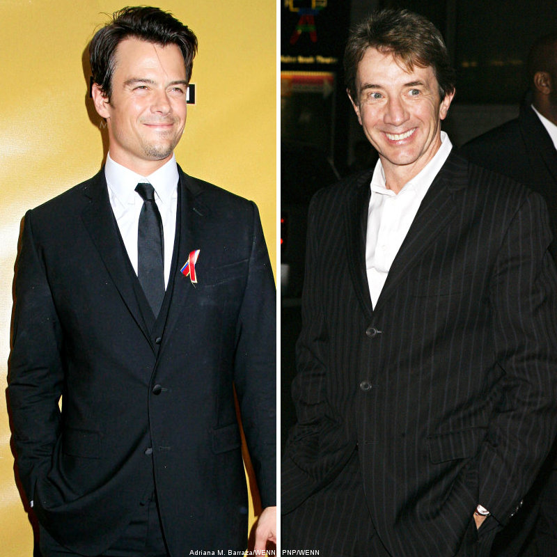 Josh Duhamel Performs Impromptu Dance as Tribute to Martin Short
