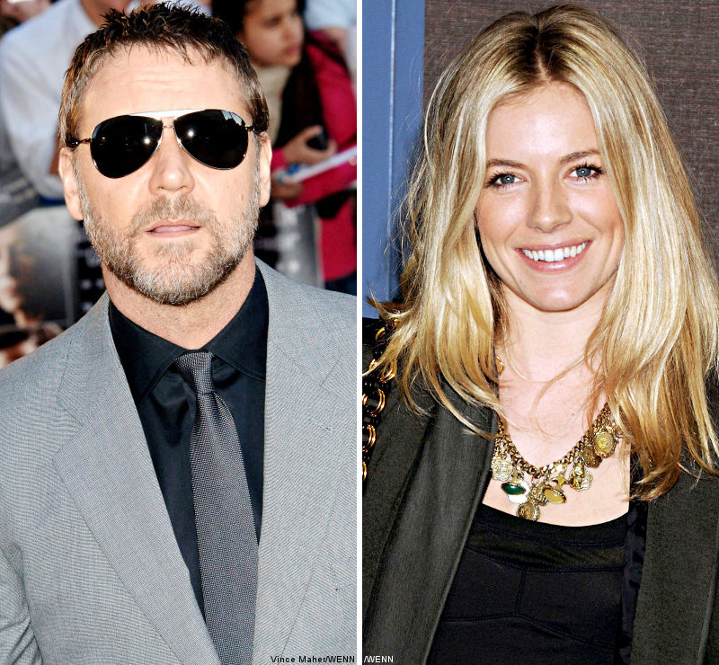 Russell Crowe Did Not Kick Out Sienna Miller From 'Robin Hood'