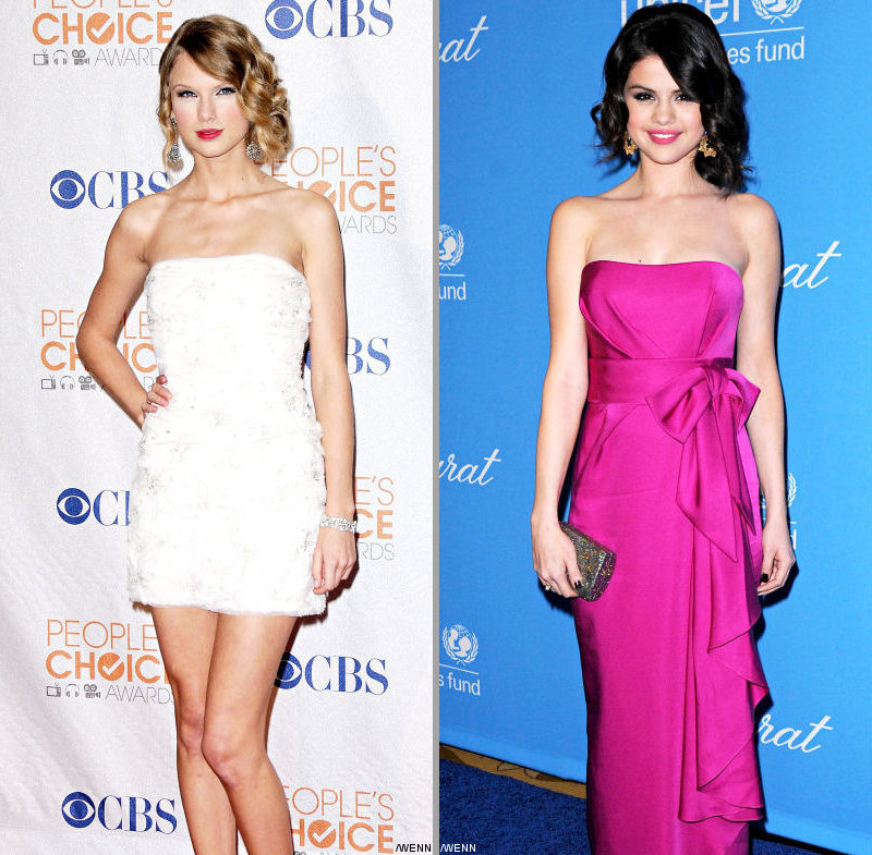 Taylor Swift and Selena Gomez Create Broken Hearts Club