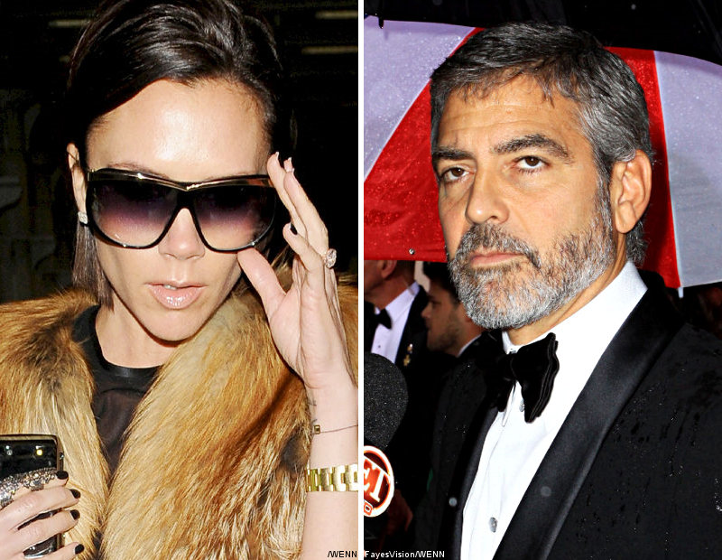 Victoria Adams Nervous When Sharing Plane With George Clooney