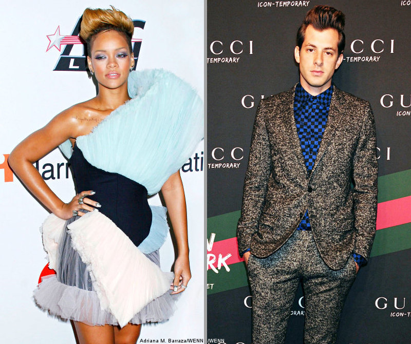 Rihanna Eyes Collaboration With Mark Ronson
