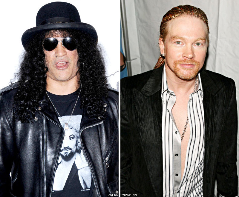 Slash Asks Music Industry to Understand Axl Rose More