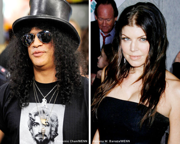 Slash Invited Fergie for Collaboration Because She's Hot