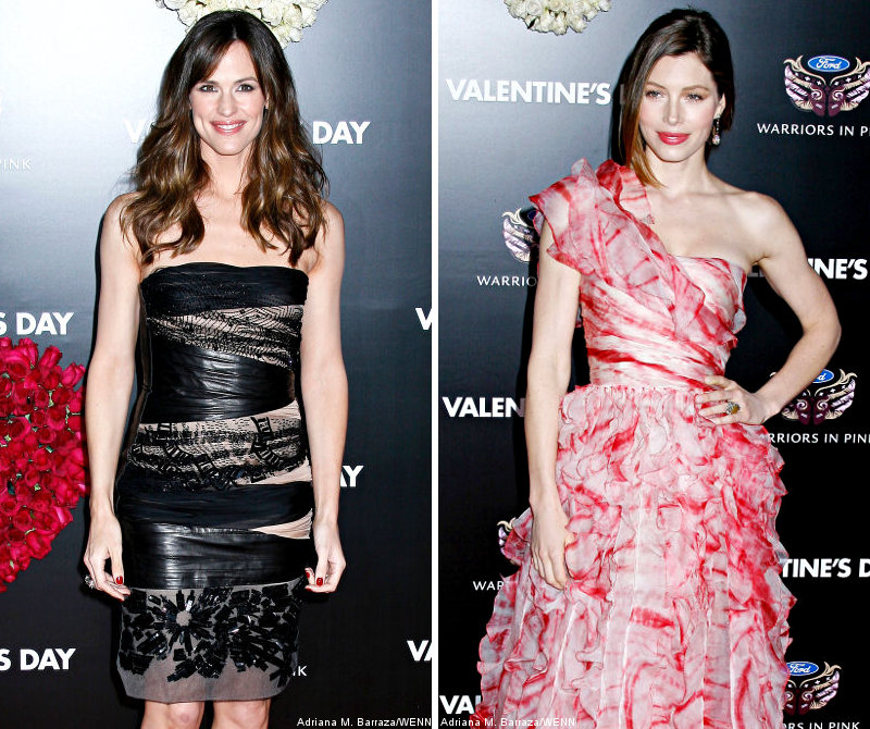 No 'Laverne and Shirley' for Jennifer Garner and Jessica Biel, Reps Say