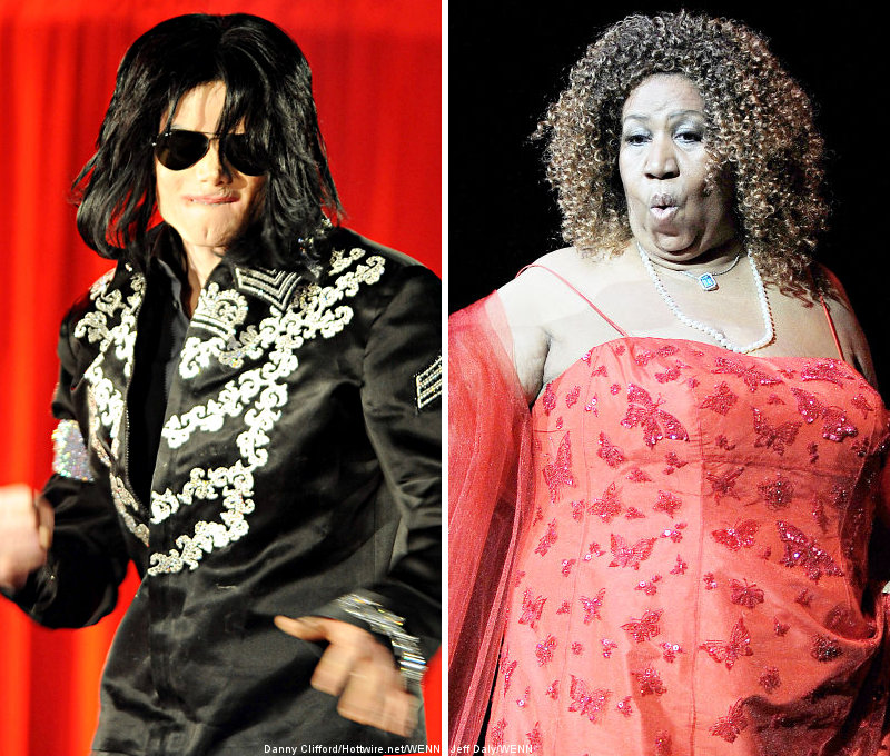 Michael Jackson and Aretha Franklin to Be Named Apollo Legends