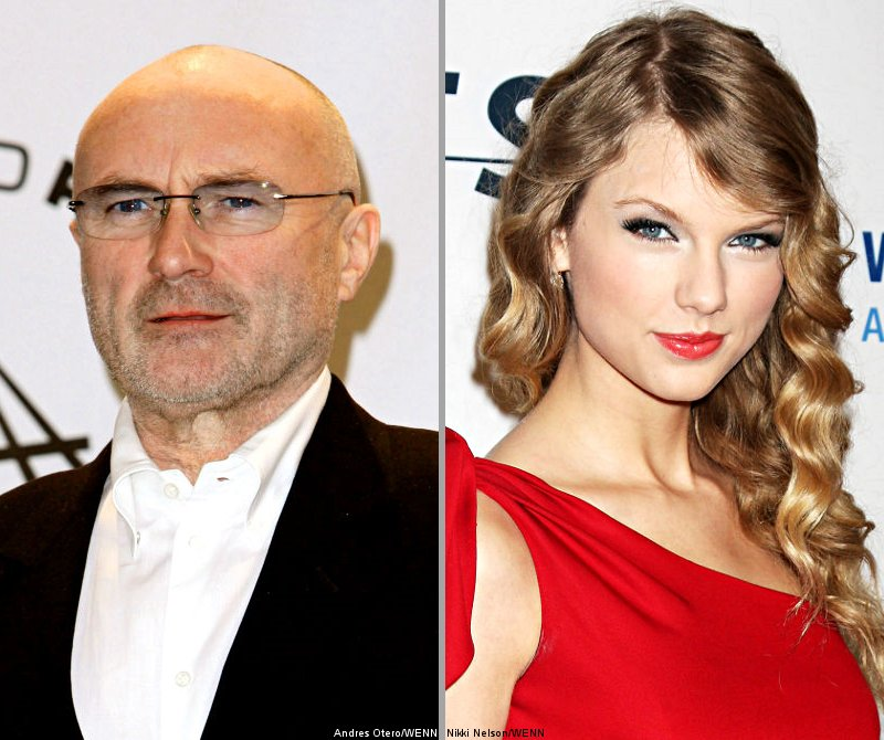 Phil Collins and Taylor Swift, Songwriter Hall of Fame Inductees