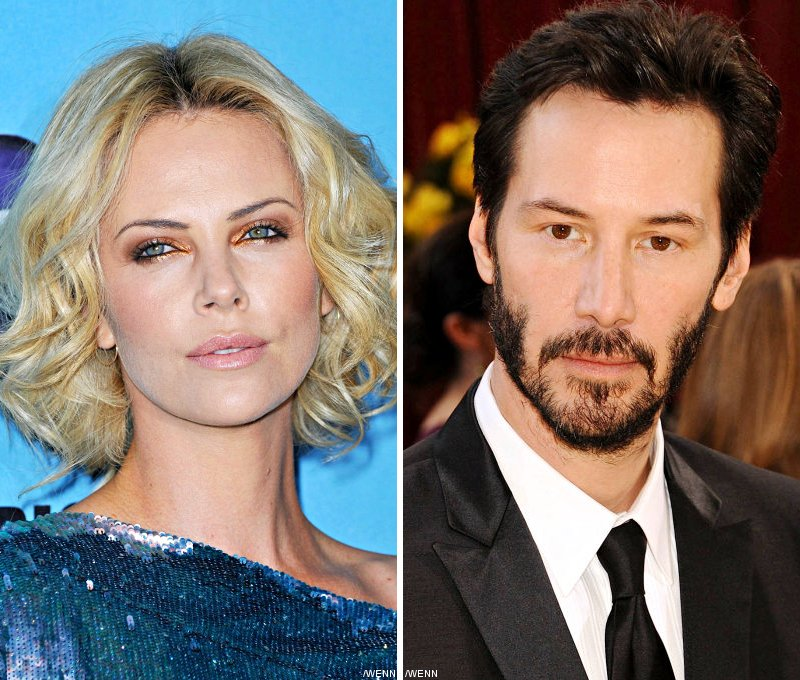 Charlize Theron Romancing Keanu Reeves