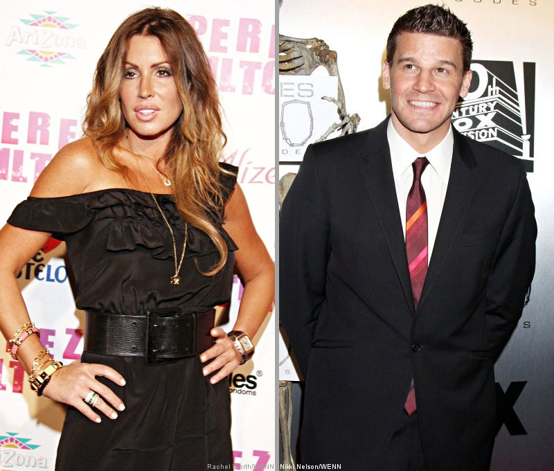 Tiger Woods' Mistress Rachel Uchitel Admits Affair With David Boreanaz