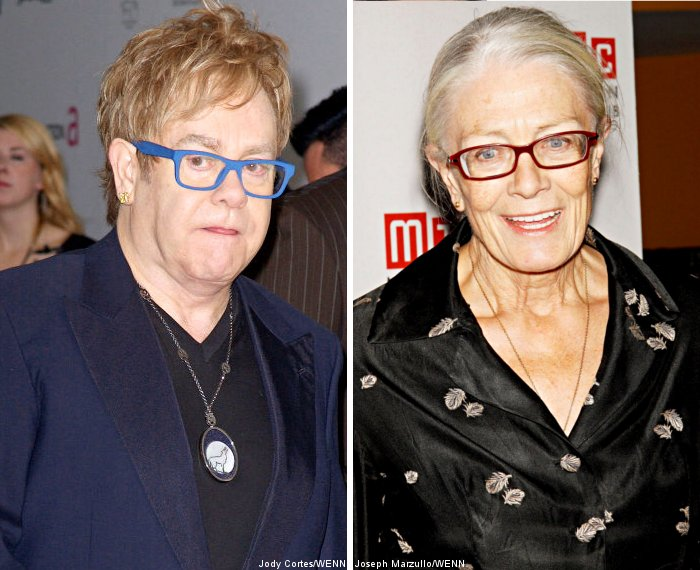 Elton John Dedicated Song to Grieving Vanessa Redgrave