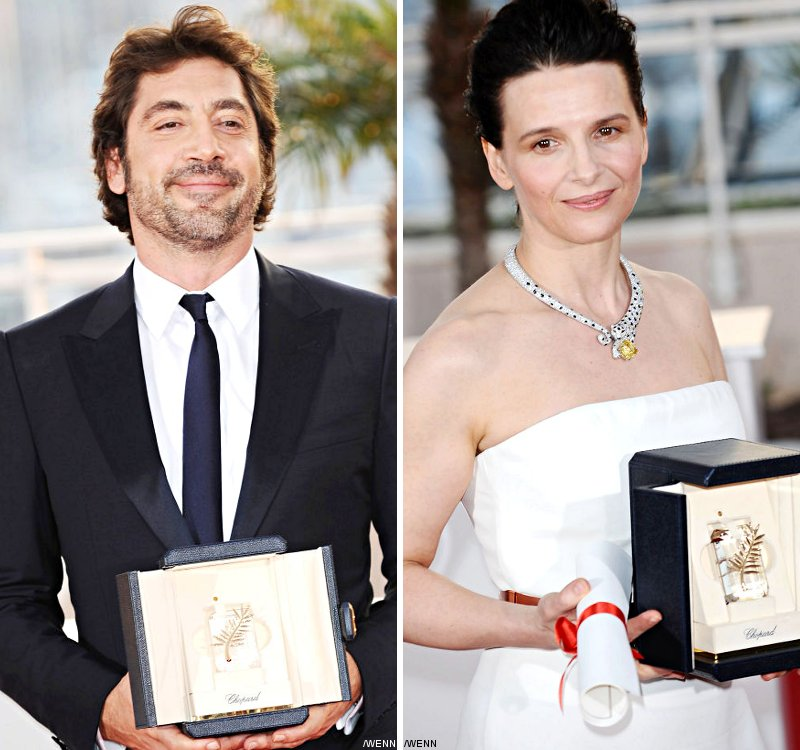 Javier Bardem and Juliette Binoche Won Top Honors at Cannes