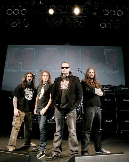 Paul Gray's Side Project Hail! Continue With Their Tour Plan