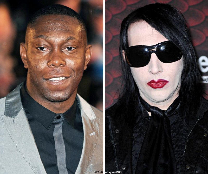 Dizzee Rascal Wants Marilyn Manson to Make Him Dark