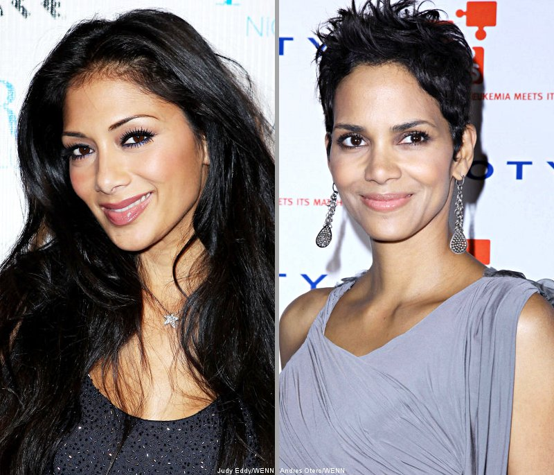 Nicole Scherzinger Has a Girl Crush on Halle Berry