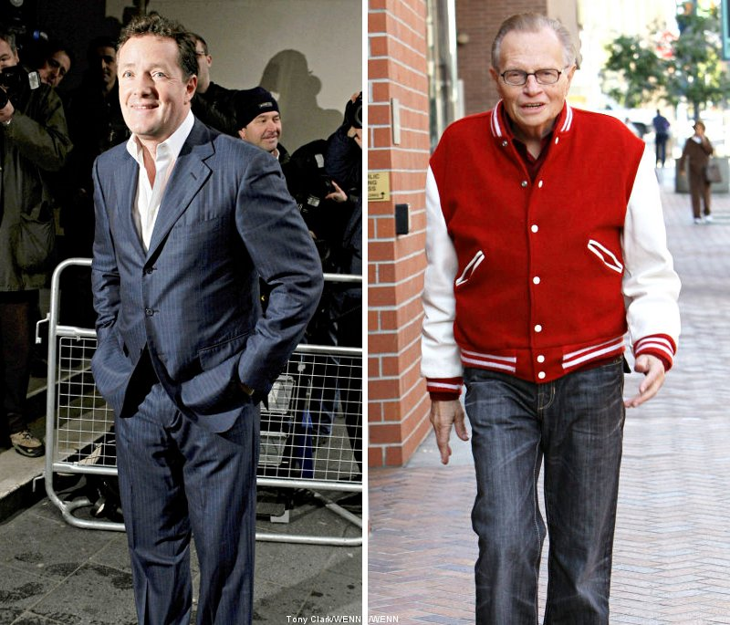 Larry King NOT Replaced by Piers Morgan, Yet