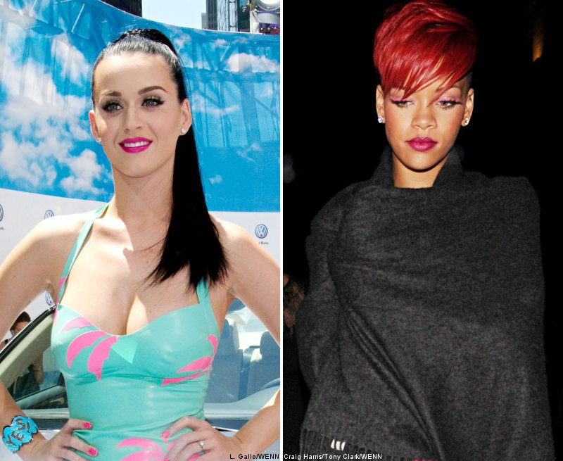 Katy Perry Wants Rihanna to Do Striptease in Her Bachelorette Party