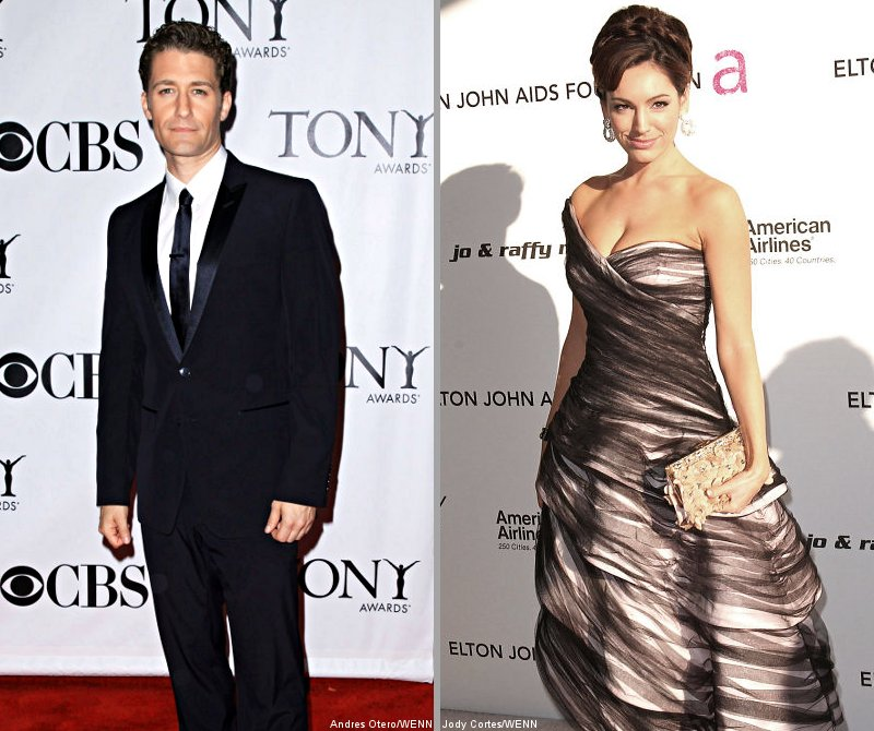 Matthew Morrison Denies Dating Kelly Brook