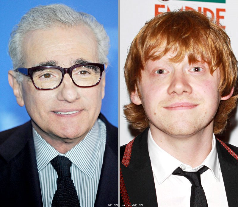 Martin Scorsese Thinks Rupert Grint Is the Next Leonardo DiCaprio