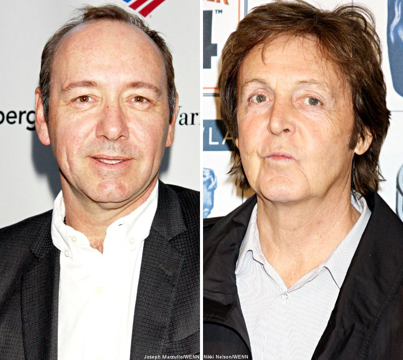 Kevin Spacey Crashed Paul McCartney's Performance