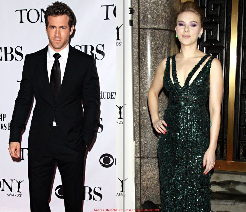 Ryan Reynolds and Scarlett Johansson Work on Whale Documentary