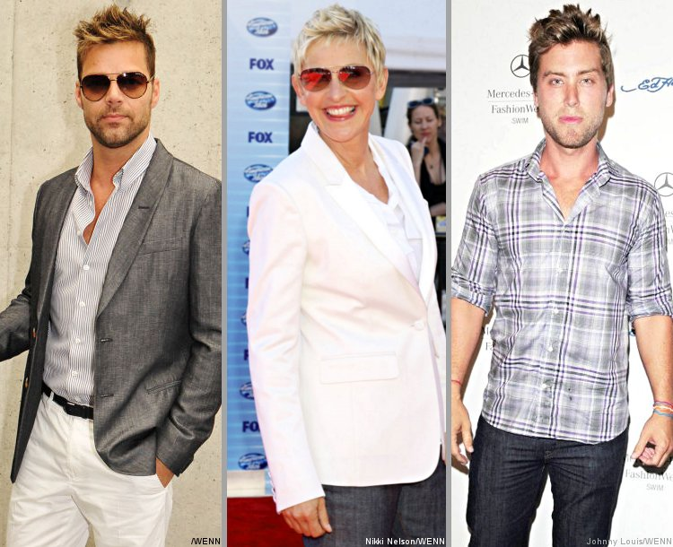 Ricky Martin, Ellen DeGeneres and Lance Bass Thrilled Over Gay Marriage Ruling