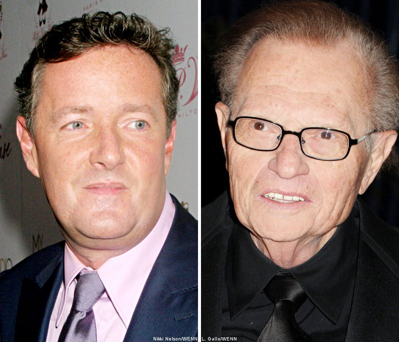 Visa Hinders Piers Morgan to Replace Larry King Soon