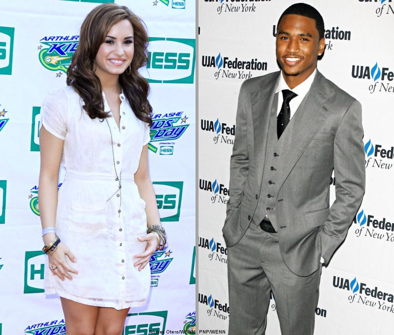 Demi Lovato: I'm Kind of Digging Hot and Awesome Trey Songz