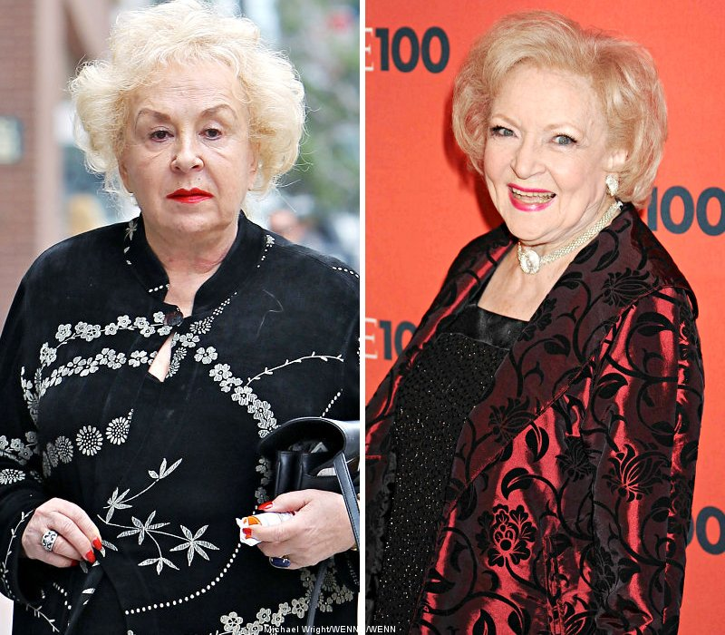 Doris Roberts and betty white
