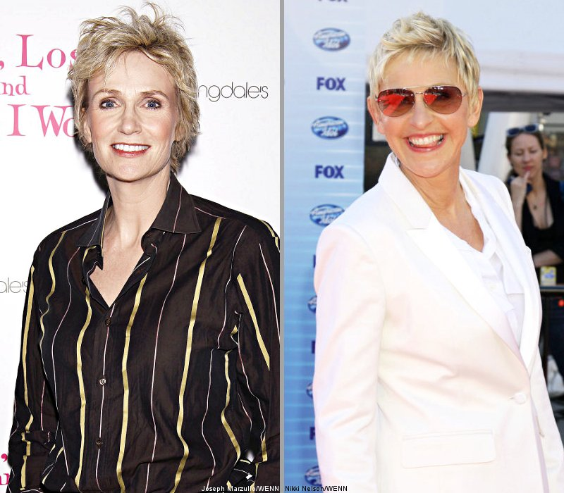 Jane Lynch Vowed to Come Out Because of Ellen DeGeneres