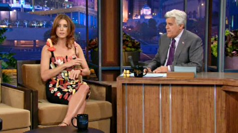 Kate Walsh Wears Sushi Dress as Homage to Lady GaGa