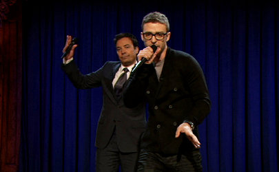 Justin Timberlake and Jimmy Fallon Made Impromptu Rap