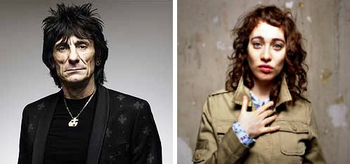 Ronnie Wood Praises Upcoming Duet Partner Regina Spektor
