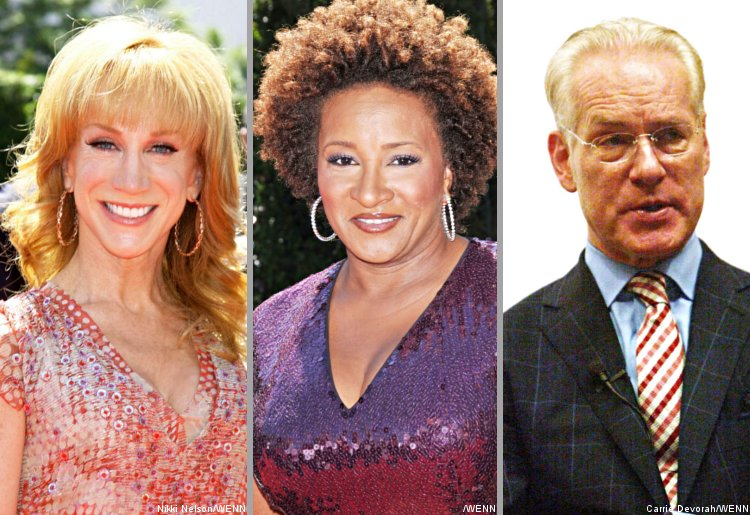 Kathy Griffin, Wanda Sykes and Tim Gunn Campaigning Against Homophobic Bullies