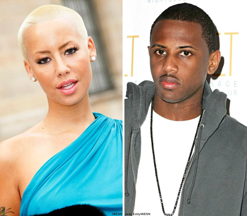 Amber Rose and Fabolous Shot Down Rumors They're Expecting Child