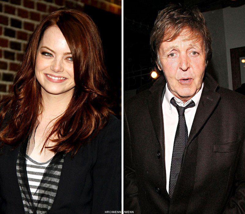 Emma Stone's Tattoo Designed by Paul McCartney