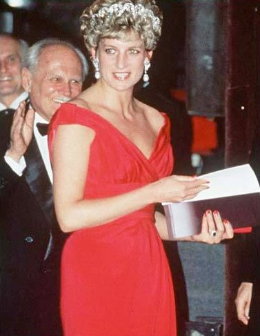 Princess Diana's Fuschia Evening Gown Is the Biggest Draw in Online Auction