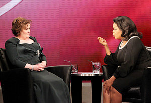 Susan Boyle Talks Bullies on 'Oprah Winfrey Show'