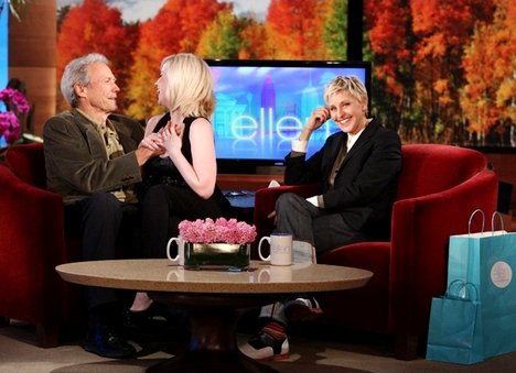 Kellie Pickler Kissed Clint Eastwood on the Lips on 'Ellen'
