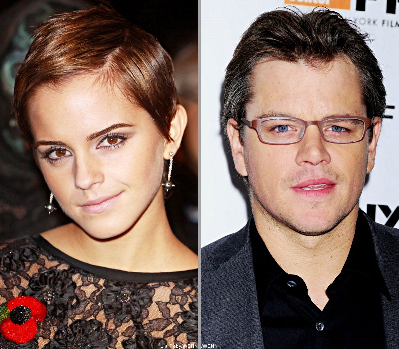 Emma Watson Went Red Upon Meeting Matt Damon