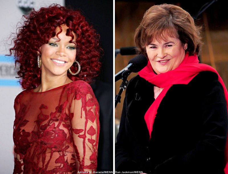 Rihanna Is Up for Duet With Susan Boyle